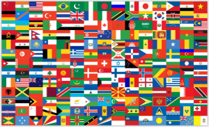 Flags of the world - Click to view our partner universities and colleges around the world